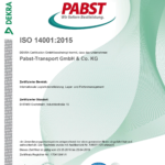 Rezert Zertifikat ISO 14001_2015